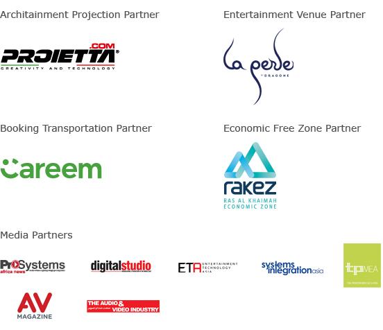 Prolight + Sound Middle East 2018 Sponsors