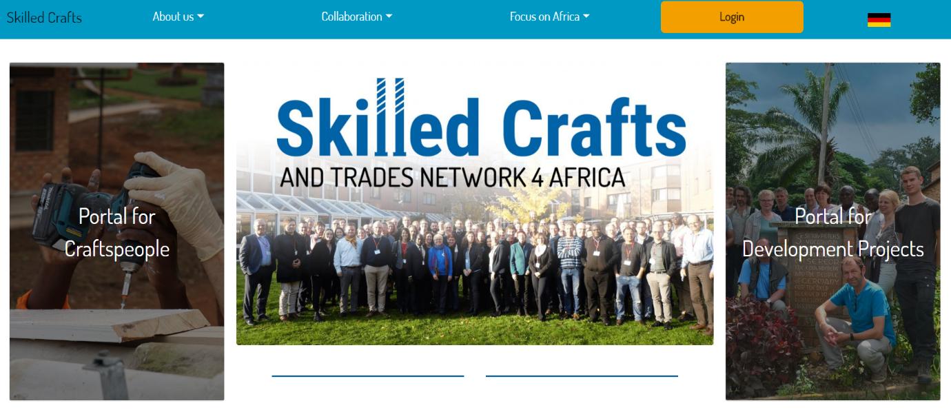 Homepage Skilled Crafts. Photo:©GIZ