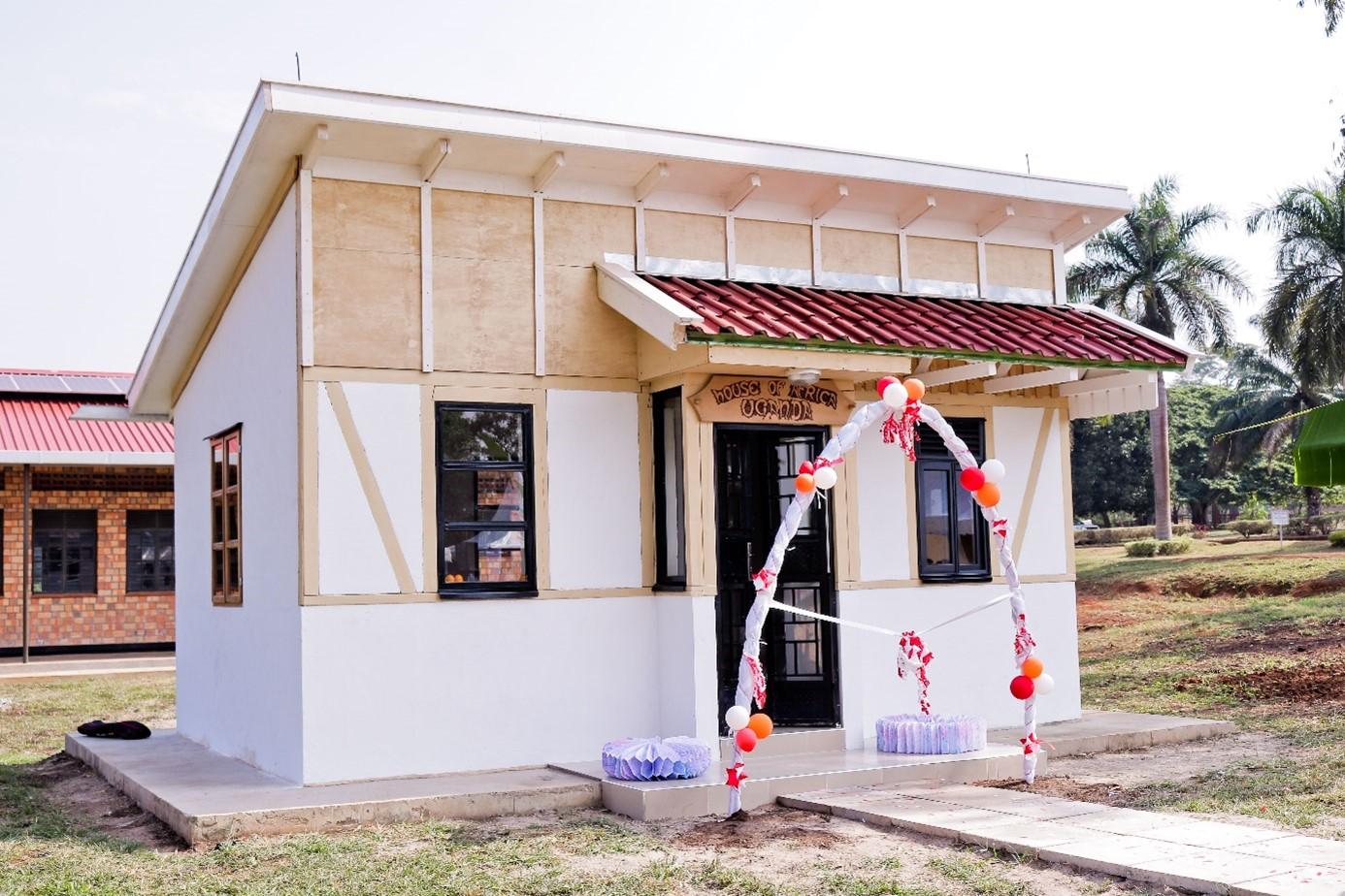 House of Africa in Hoima, Uganda. Foto: © GIZ