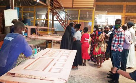 """Arbeit in der Werkstatt """"Fundi Women"""". Foto: © GIZ"""