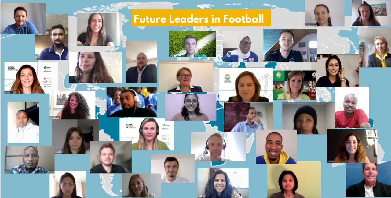 Kick-off of the 'Future Leaders in Football' course. Photo © GIZ
