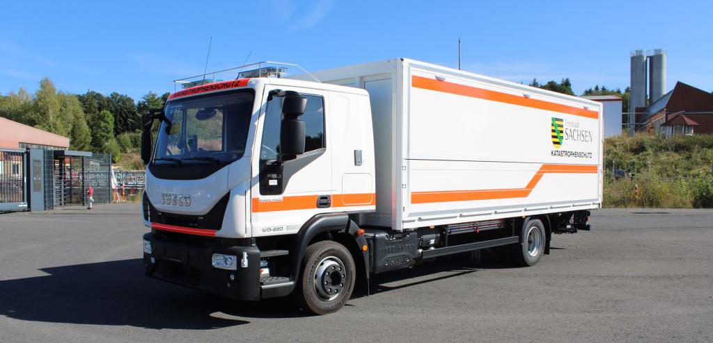Katastrophenschutzfahrzeug: Gerätewagen Versorgung