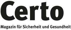 Certo - Magazin für Sicherheit und Gesundheit