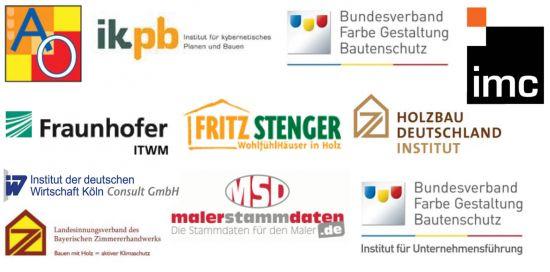 Logos der Projektpartner von eMasterCraft