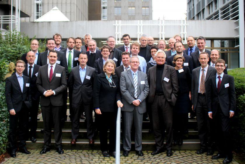 Teilnehmer des Evaluationsworkshops