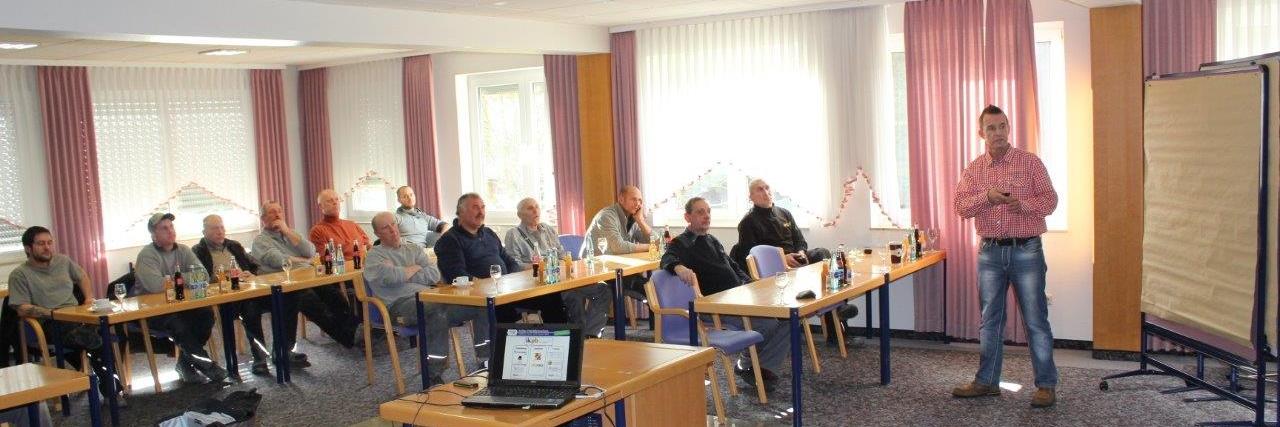 Foto: Halbtägiger Workshop mit den gewerblichen Mitarbeitern