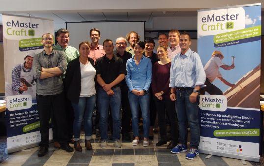 Teilnehmer des eMasterCraft<sup>®</sup>-Statusmeetings 2014
