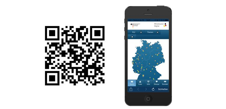 Die Web-App Mittelstand-Digital - Ihr direkter Zugang zum eBusiness