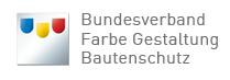 Logo Bundesverbandes Farbe Gestaltung Bautenschutz