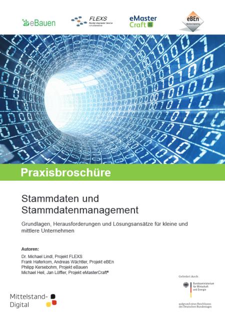 """Praxisbroschüre """"Stammdaten und Stammdatenmanagement"""""""