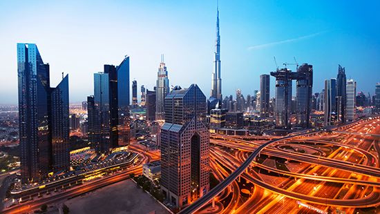 Travelling to Dubai